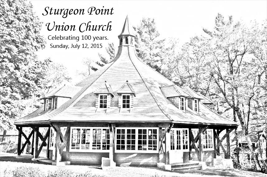Sturgeon Point Union Church celebrates 100 years